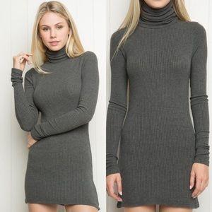 Brandy Melville Adalie Turtleneck Sweater Dress